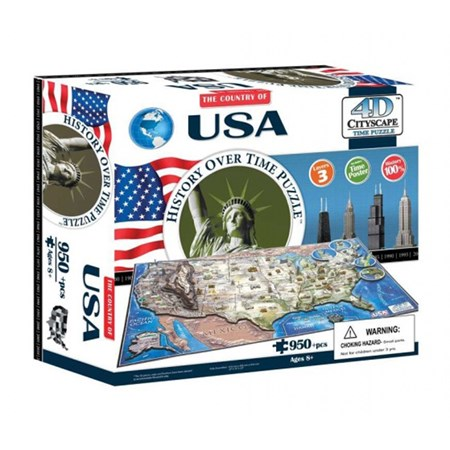 Puzzle 4D CITY USA