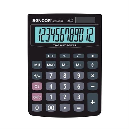 Kalkulátor kapesní SENCOR SEC 340-12 DUAL