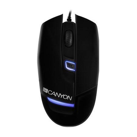 Myš PC drátová CANYON CNS-SGM4 černá