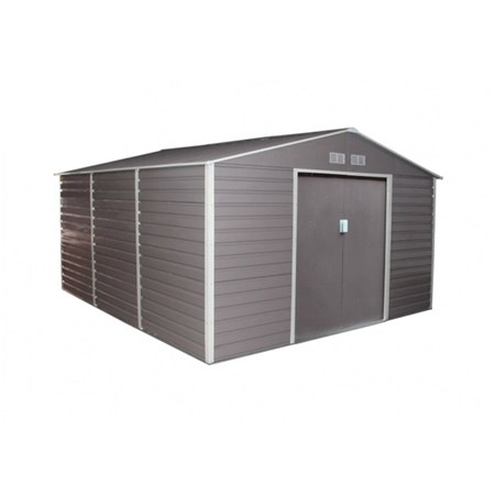 Domek zahradní G21 GAH 1300 340 x 383 cm šedý