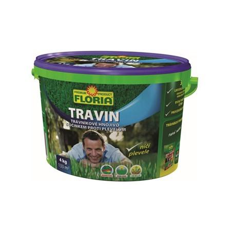 Hnojivo trávníkové AGRO TRAVIN 4 kg