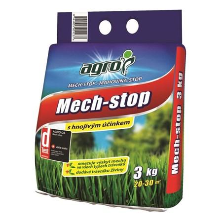 Hnojivo trávníkové AGRO MECH STOP 3kg proti mechu