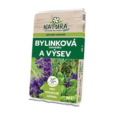 Substrát NATURA pro bylinky a zelené koření 10L