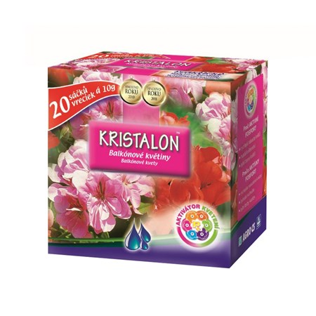 Hnojivo krystalické KRISTALON balkónové květiny 20x 10g
