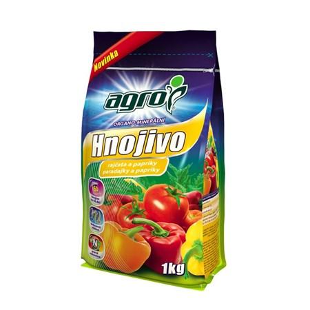 Hnojivo organominerální AGRO pro rajčata a papriky 1 kg