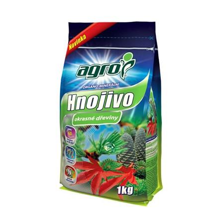 Hnojivo organominerální AGRO pro okrasné dřeviny 1kg