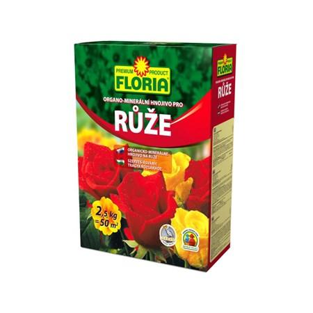 Hnojivo organominerální FLORIA pro růže 2.5 kg