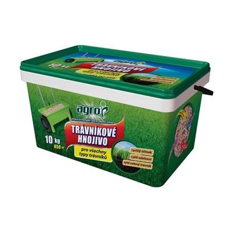 Hnojivo trávníkové AGRO 10 kg kbelík