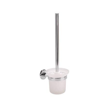 Držák na WC štětku, 150x115x410mm, Chrom, FRESHHH