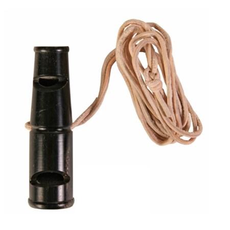 Píšťalka pro psy TRIXIE z buvolího rohu 6 cm