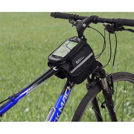 Cyklotaška nad rám oboustranná + PHONE