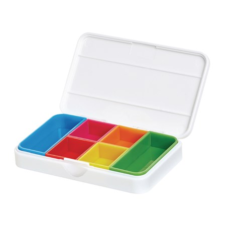 Krabička na léky bílá VITILITY VIT-90610060