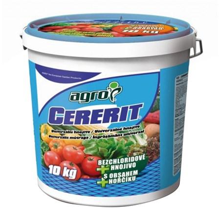 Hnojivo granulované AGRO CERERIT univerzální 10 kg kbelík