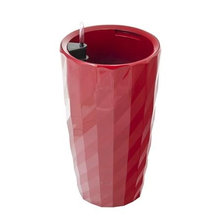 Květináč G21 DIAMANT 57 cm červený samozavlažovací