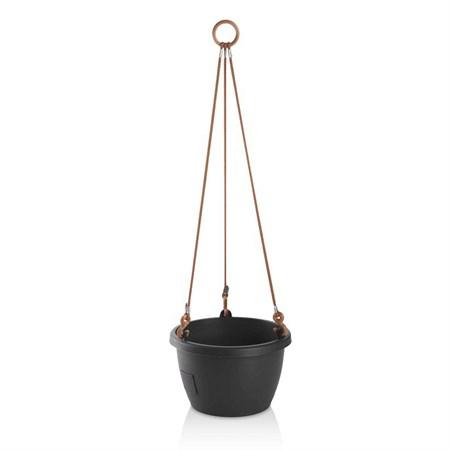 Květináč závěsný MARINA 30cm antracit samozavlažovací