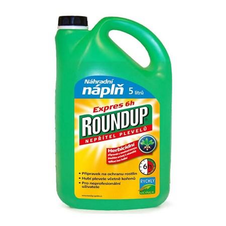 Herbicid ROUNDUP EXPRES 6h 5L náhradní náplň