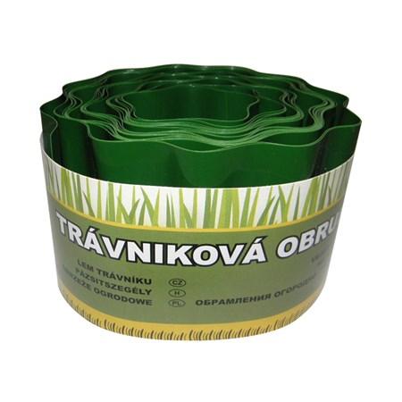 Okraj trávníku 9 m - 20 cm zelený