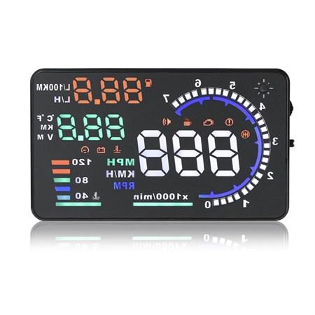 Monitor do auta  s HUD projekčním displejem 5,5''