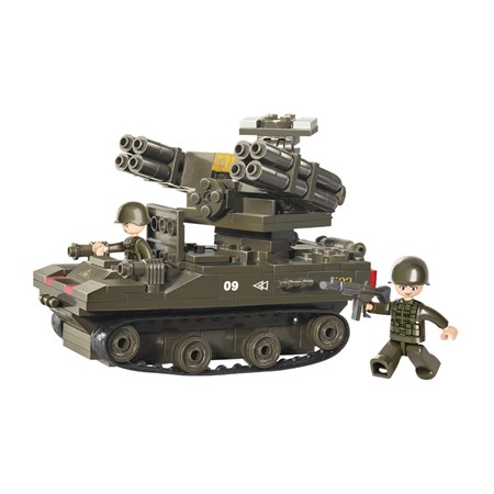 Stavebnice SLUBAN TANK TOR-M1 M38-B0283
