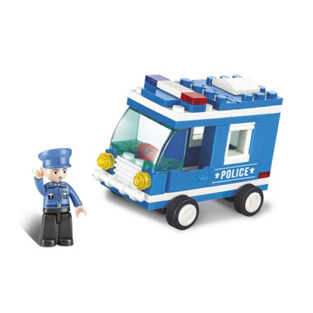 Stavebnice SLUBAN POLICEJNÍ VŮZ M38-B0177