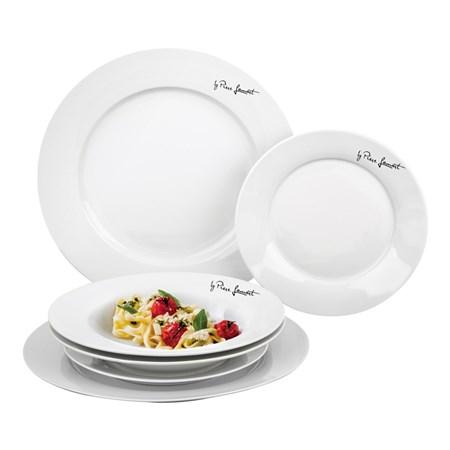 Sada jídelní 6ks DINE LAMART LT9001, talíře kulaté