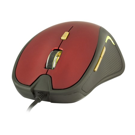 PC myš YENKEE YMS 1010RD Dakar Red