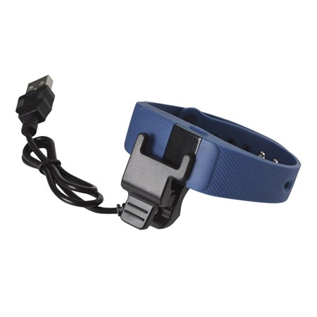 Fitness náramek s měřením tepu FT11, OLED, Bluetooth 4.0, Android+iOS černá
