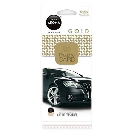 Osvěžovač Aroma CAR CITY CARD GOLD