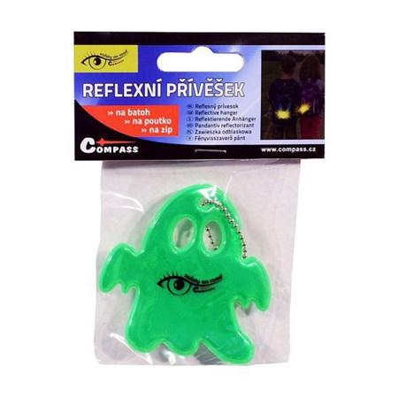 Reflexní přívěšek GHOST S.O.R. zelený