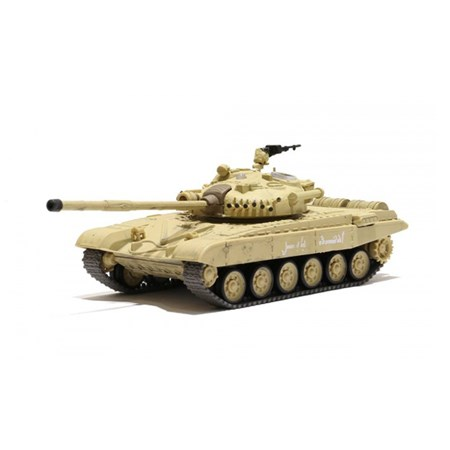 RC model TANK RUSSIAN T-72 M1 DESERT