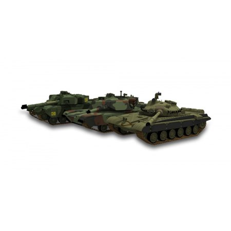 RC model TANK BRITISH CHALLENGER 1 FOREST