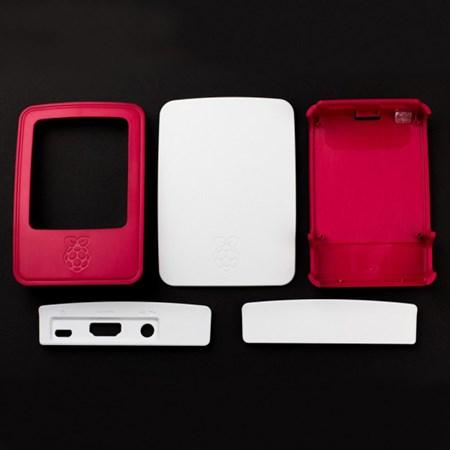 Krabička RASPBERRY Pi červená