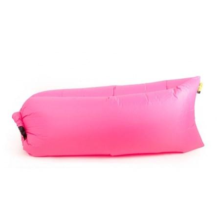 Vak nafukovací G21 LAZY BAG růžová