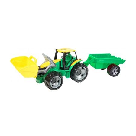Traktor LENA se lžící a přívěsem 60 cm