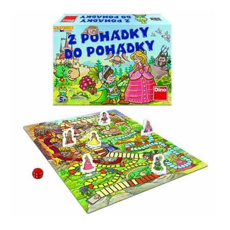 Hra stolní DINO Z POHÁDKY DO POHÁDKY