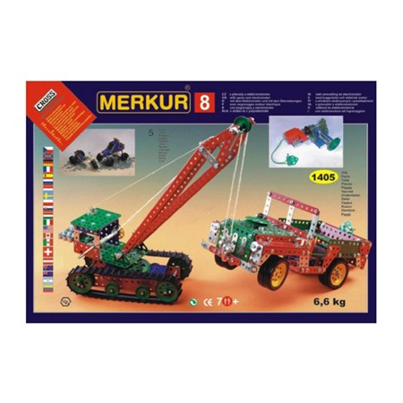 Stavebnice MERKUR 8 BIG SET