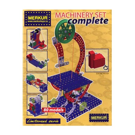 Stavebnice MERKUR MACHINERY SET COMPLETE