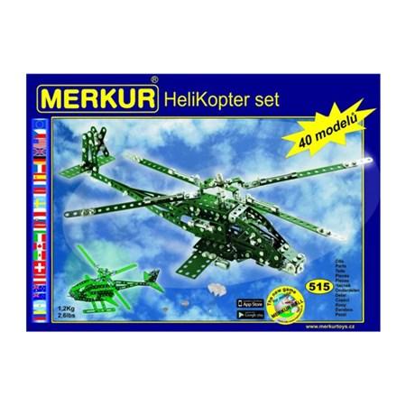 Stavebnice MERKUR HELICOPTER SET