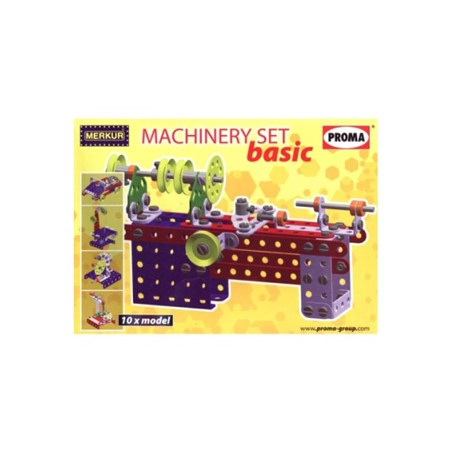 Stavebnice MERKUR MACHINERY SET BASIC