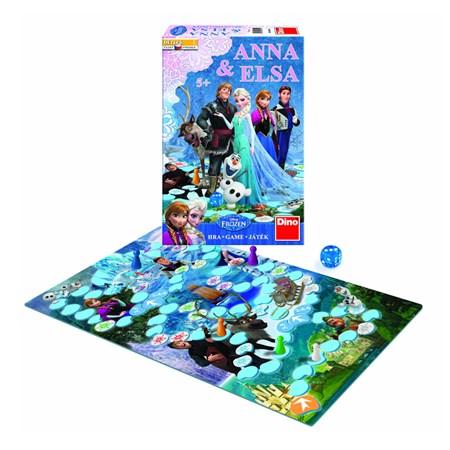 Hra stolní DINO LEDOVÉ KRÁLOVSTVÍ ANNA & ELSA