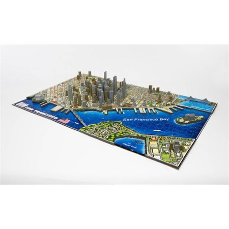 Puzzle 4D CITY SAN FRANCISCO