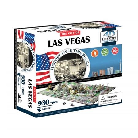 Puzzle 4D CITY LAS VEGAS