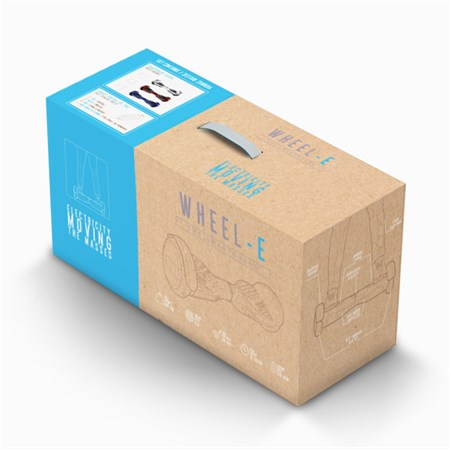 Hoverboard WHEEL-E WH03 6.5'' modrý - II. jakost