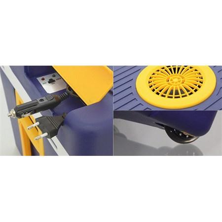 Autochladnička Compass, Chladící box 50l 230V/12V pojízdný