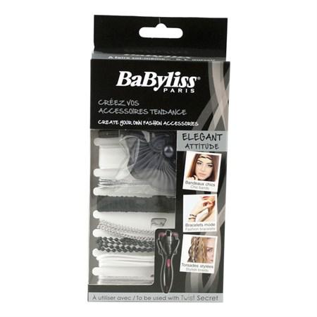 Sada doplňků k copánkovači Twist Secret BaByliss Twist Elegant 799502