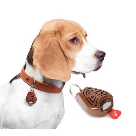 Repelent proti klíšťatům TICKLESS PET ultrazvukový pro zvířata hnědý