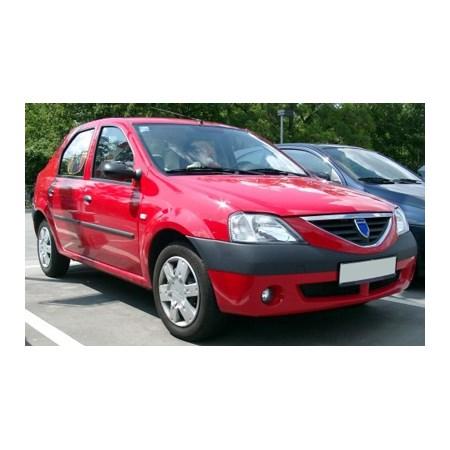 Lemy blatníku DACIA LOGAN 2004 - 2012 plastové sedan 4ks
