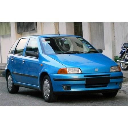 Lemy blatníku FIAT PUNTO 1993 - 1999 plastové 5dveř 4ks