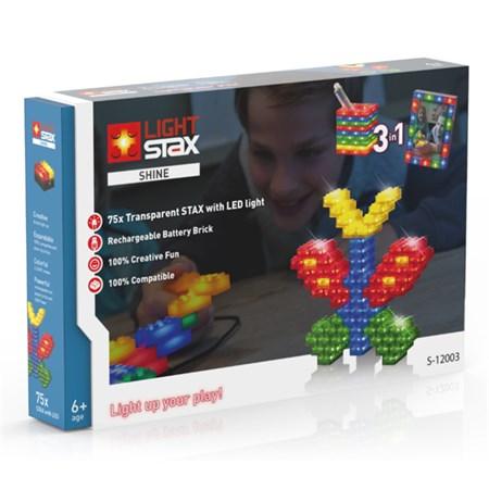 Stavebnice LIGHT STAX SHINE 3v1 kompatibilní LEGO