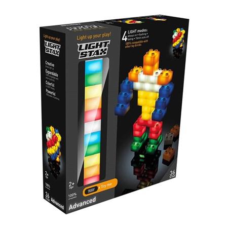 Stavebnice LIGHT STAX ADVANCED kompatibilní LEGO DUPLO